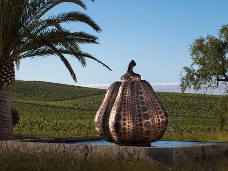 Слава Яёи Кусама достигла виноградников Donum Estate, находящихся в округе Сонома, Калифорния.