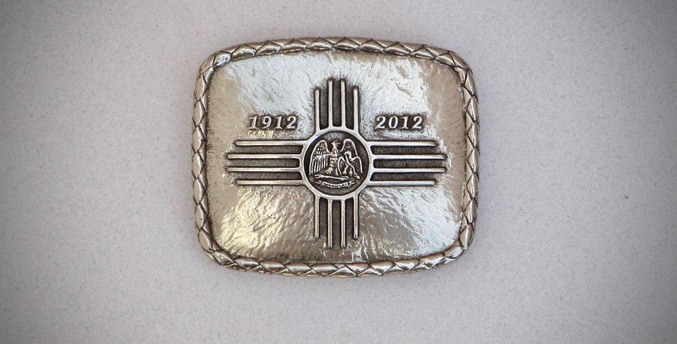 New Mexico Centennial Belt Buckle