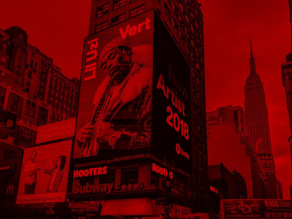 Lil Uzi Vert - Spotify Billboard