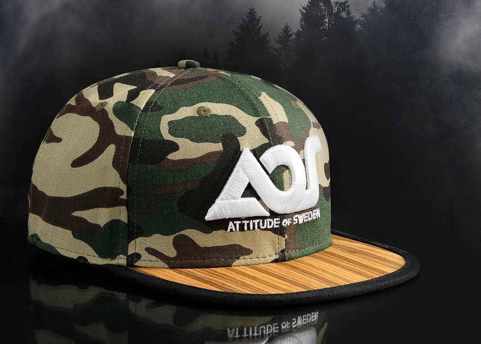 Attitude of Sweden Wooden Cap