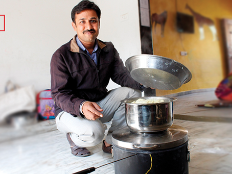 Solar Stove™ in the news in YourStory!