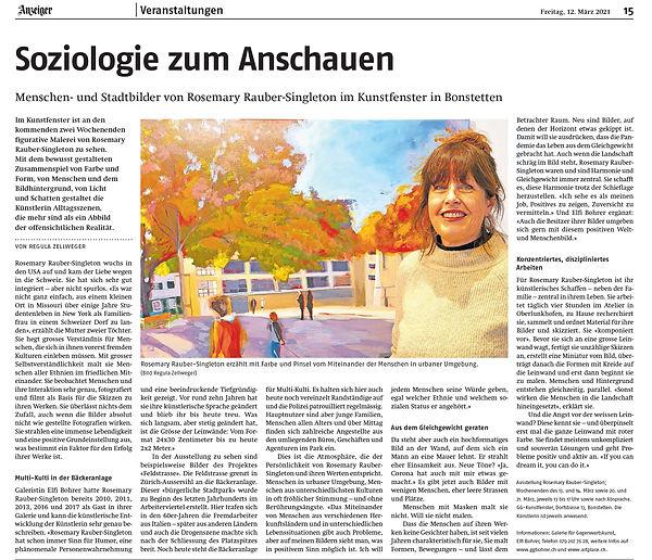 Kunstfenster Bonstetten 2021