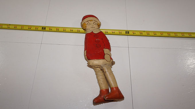 1930s Orphan Annie Oilcloth Doll By Harold Gray