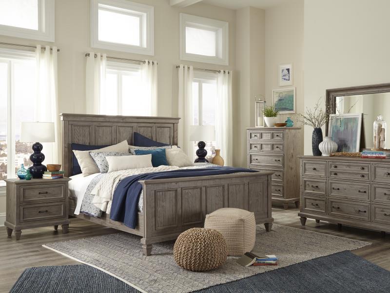 Greywash Bedroom Set