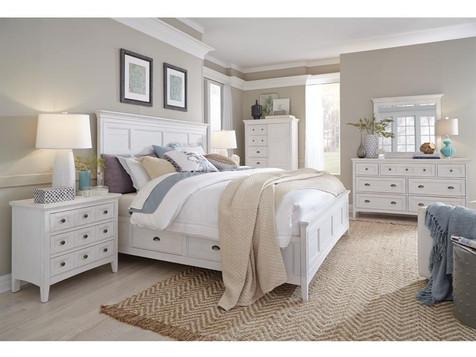 Chalk White Bedroom Set