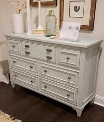 New White Dresser