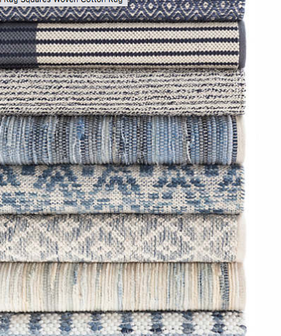 Blue Rug Collection