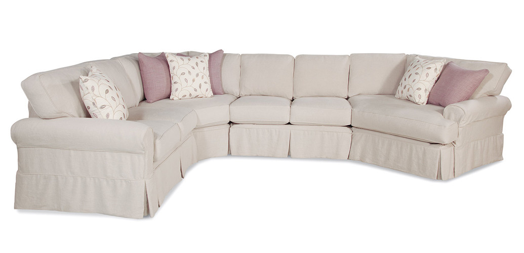Large Slipcover Sectional