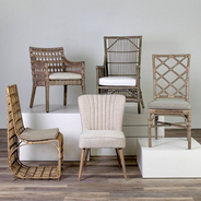 Rattan Side Chairs