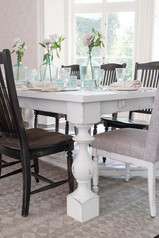 Farmhouse Distressed Dining Table