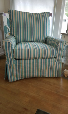 Large Slipcover Chair