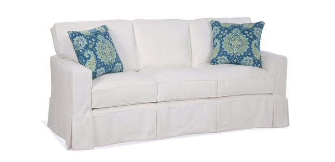 Track Arm Slipcover Sofa