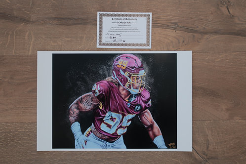 Chase Young 11x14 Print