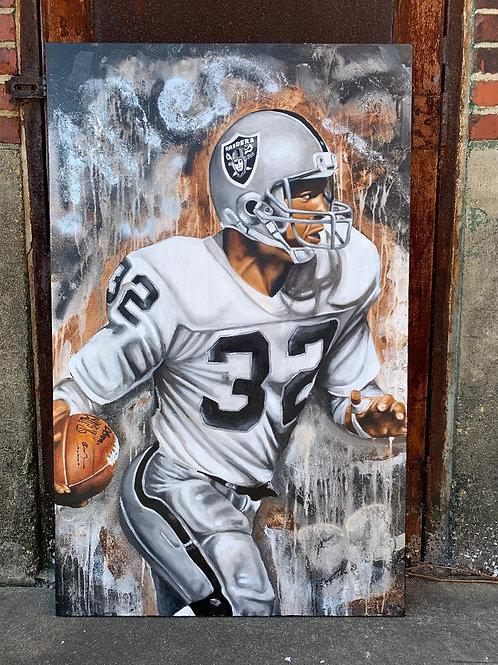 """""""Allen 32"""" Marcus Allen Painting"""