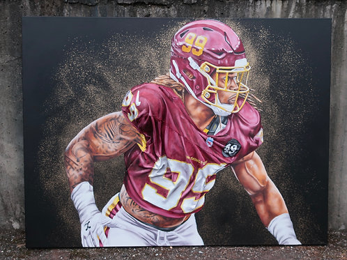 Chase Young 3d Painting
