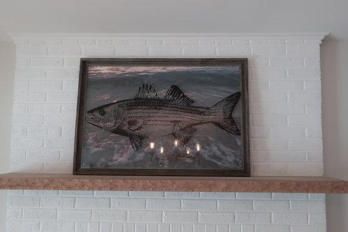 NEW Acrylic Fish Painting