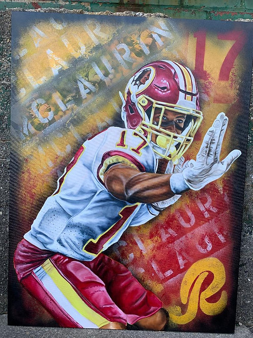Terry Mclaurin Original Painting