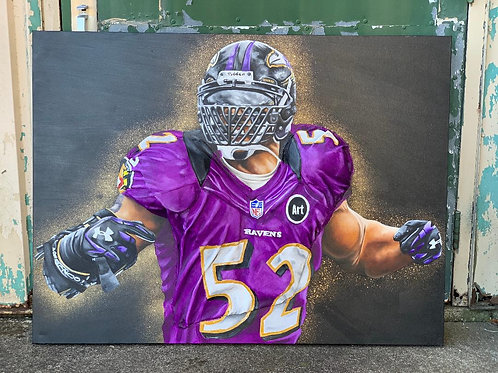 Ray Lewis 3D Painting