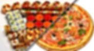 заказ суши и пиццы сетов роллов Одесса
