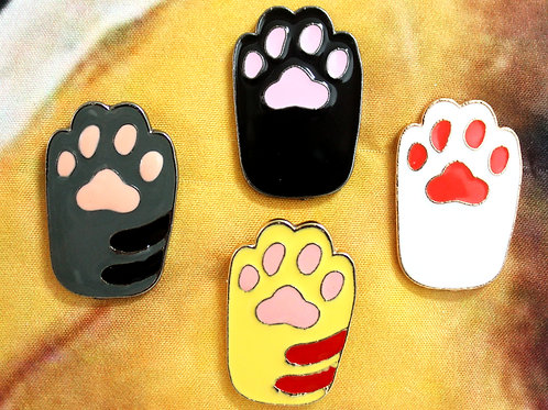 Cat Paw Pin Collection