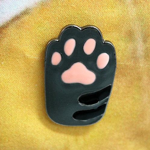 Tabby Paw Pin