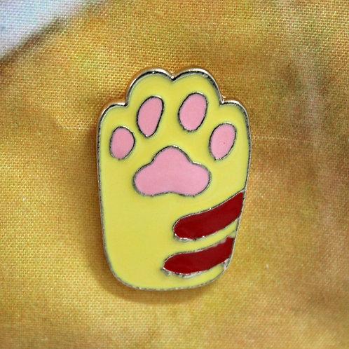 Yellow Paw Pin