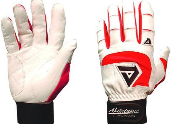 FS Red Batting Gloves
