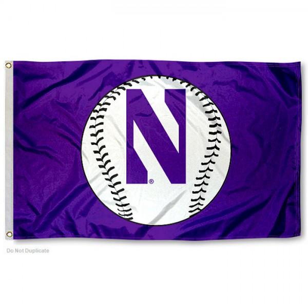 northwestern_university_baseball_flag_93412sma