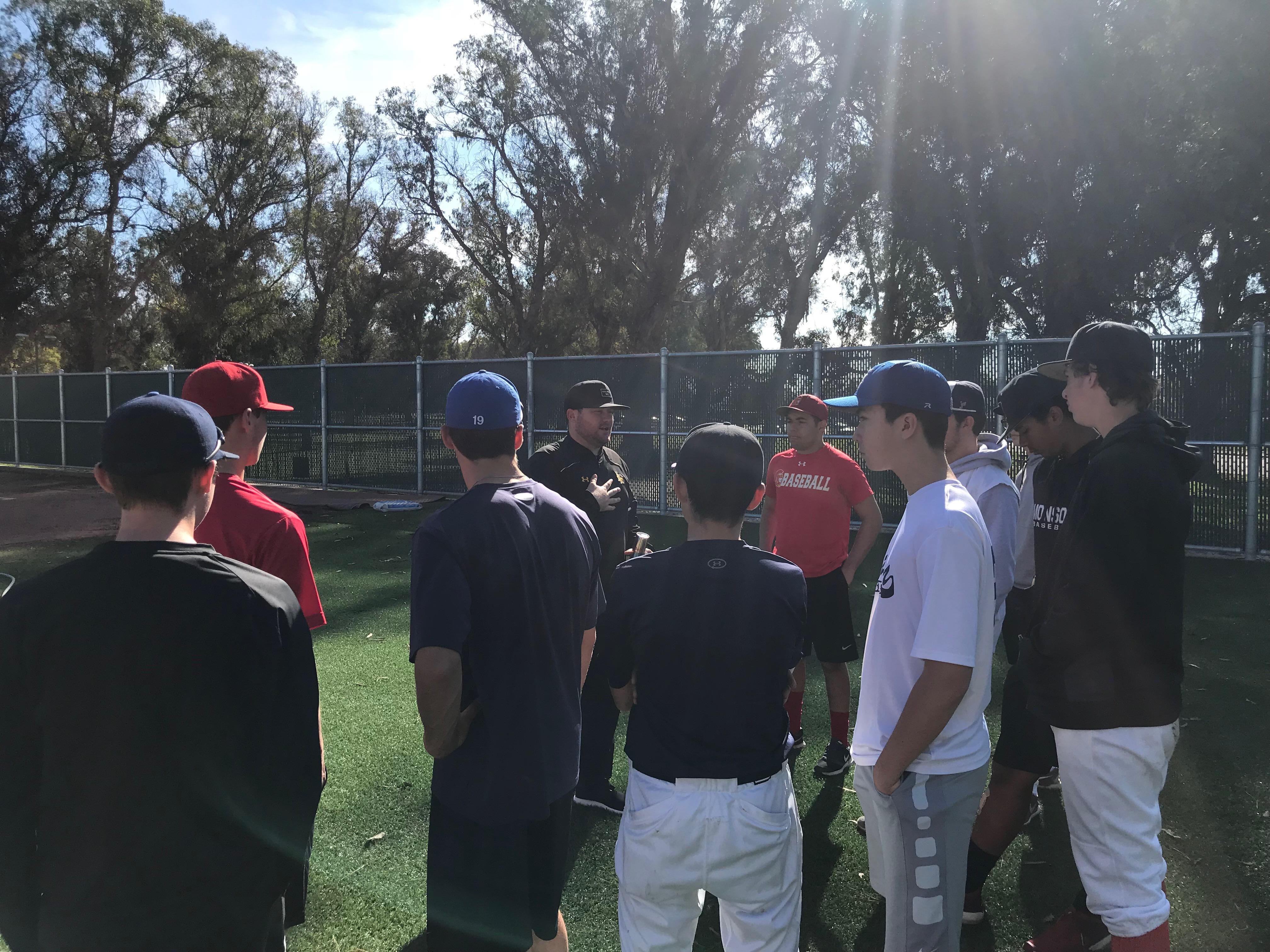 Long Beach Tour With Coach DeAngelis