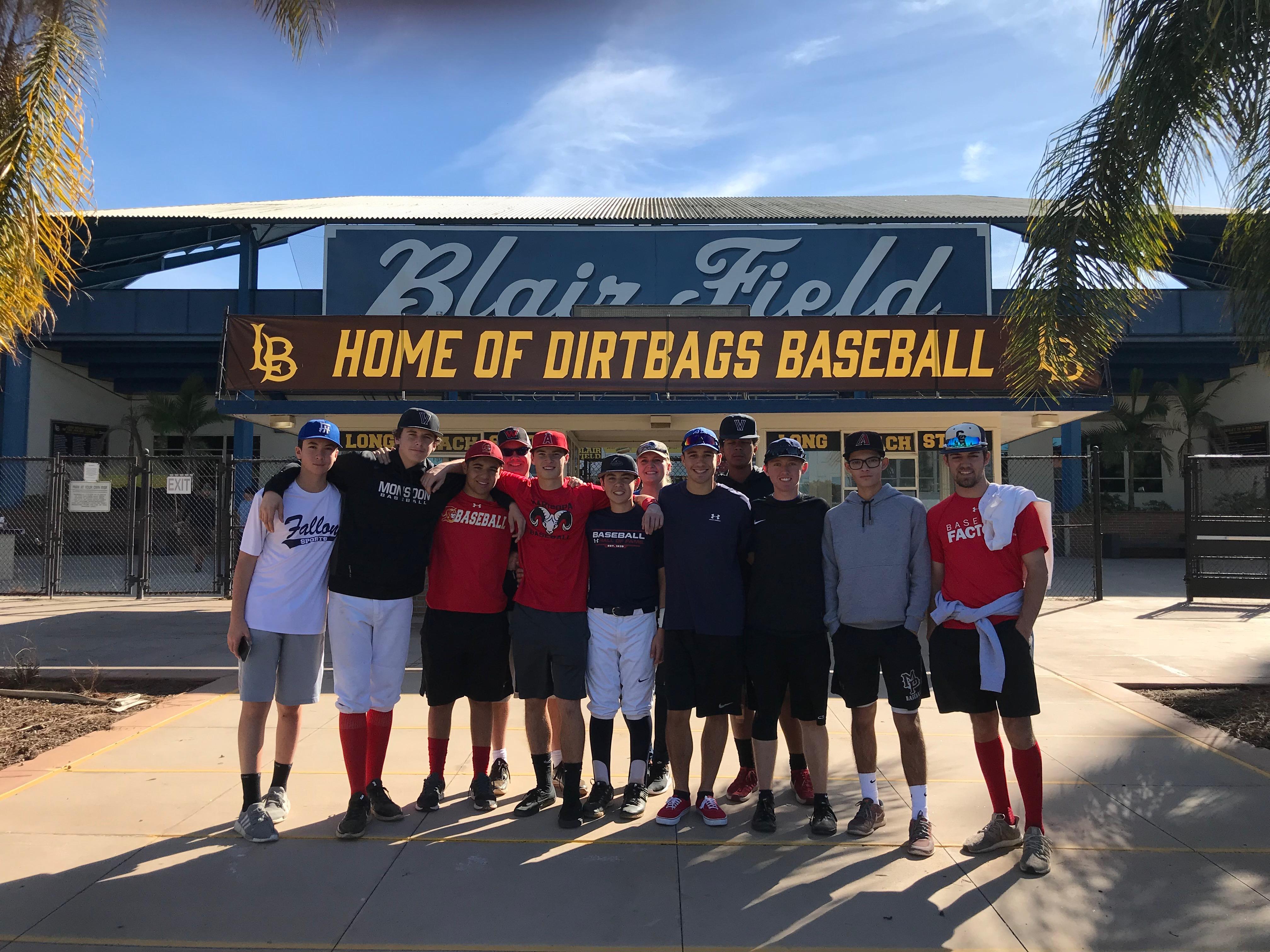 Blair Field group photo