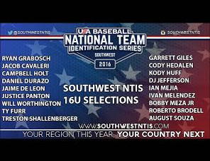 USA Baseball NTIS 16u Team