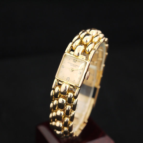 Patek Philippe 18k Rose Gold Ladies Luxury Watch