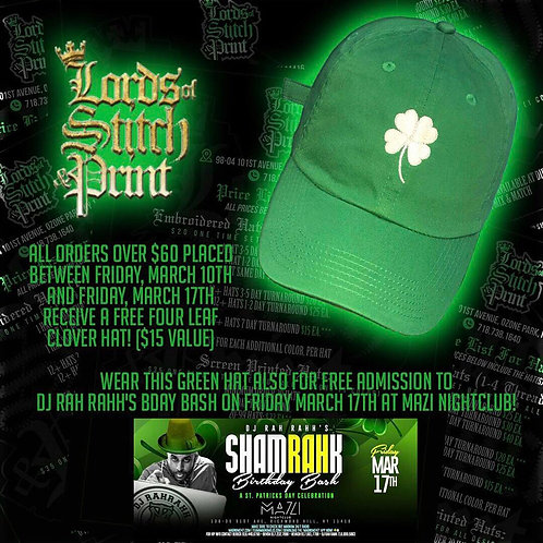 Lucky Charm Dad Hat (Green)