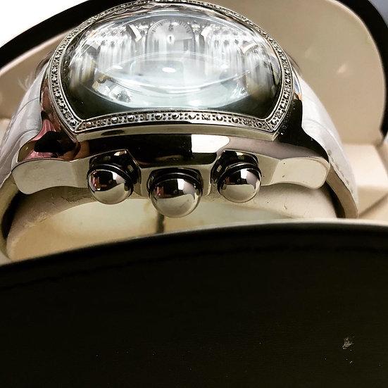 Techno Swiss Chronograph Bubble Watch