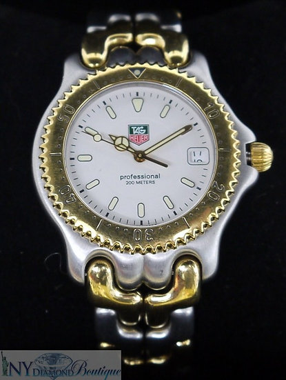 Tag Heuer Professional Two-Tone Stainless Steel Swiss Men's Luxury Watch
