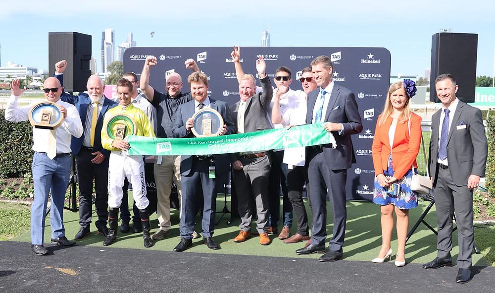 Subterranean Group 3 horse racing win