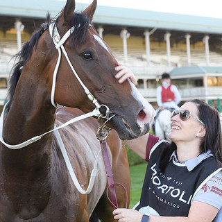Snitz with Strapper after Listed Win