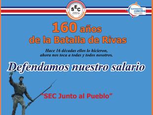 160 años de la Batalla de Rivas