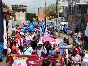 Magisterio Nacional y Unidad Sindical dan primer aviso al Gobierno.