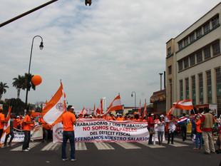 SEC presente en la celebración del Día Internacional de las y los trabajadores.