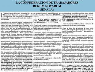 Campo Pagado: exigimos al Gobierno atender de manera justa, honesta y sin intereses partidistas