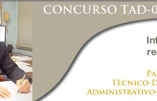 Resultados del concurso docente TAD-01-2015 estarán disponibles el lunes 30 de mayo
