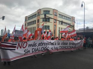Unidad Sindical logró convocar a miles en la huelga nacional
