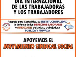 Por el respeto a Costa Rica: su institucionalidad y la defensa de los derechos laborales y sindicale