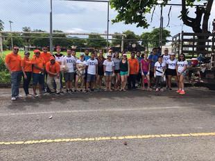 Casa Juventud realiza quinta jornada de limpieza en la playa de Puntarenas