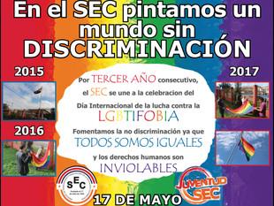 En el SEC pitamos un mundo sin discriminación