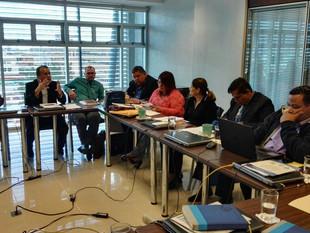 Coalición Sindical (SEC-ANDE-SITRACOME) analiza temas que contendrá la tercera Convención Colectiva