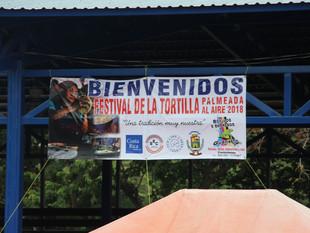 Corralillo realizó la XII edición del Festival de la Tortilla palmeada al aire