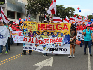 Huelga nacional cumple su primera semana