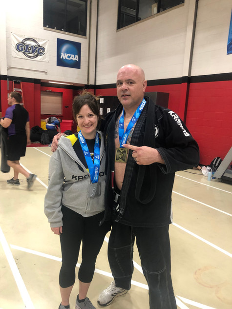 Taylor and I at IBJJF KC